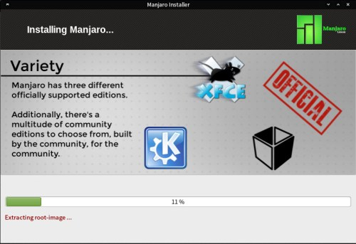 manjaro installation tutorial 8