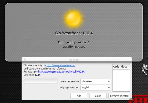 gis weather on eos luna 1