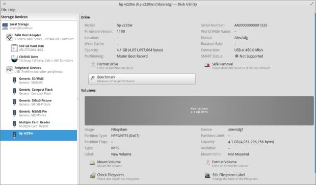 gnome disk utility