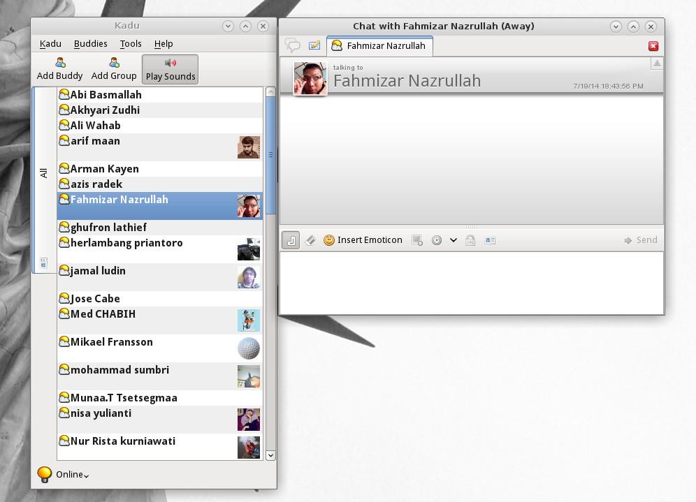 Install Kadu Instant Messenger on Linux Lite 2 0 - Tutorial