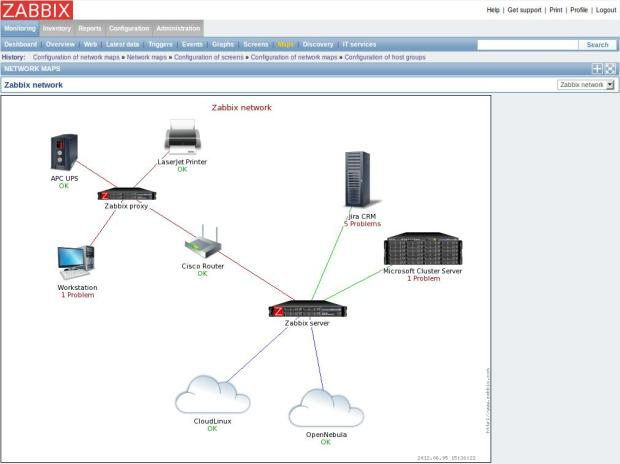 zabbix screenshot 3