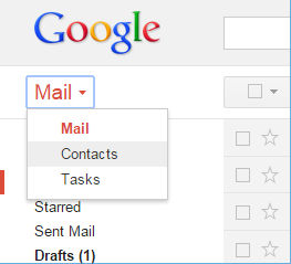 gmail contact