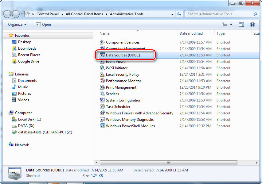 How to create MySQL ODBC Connection to Amazon RDS Database