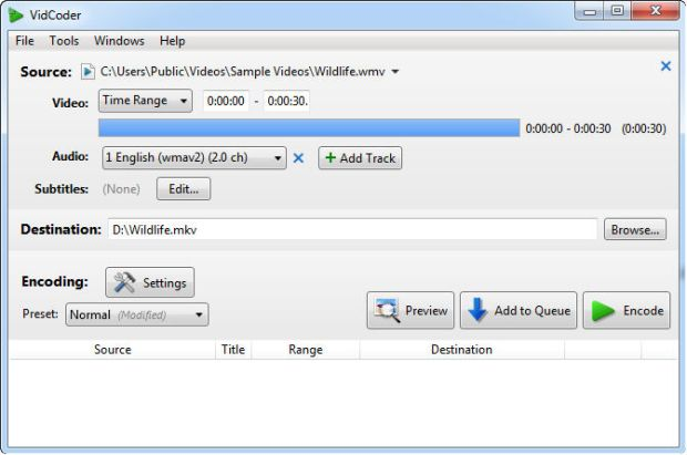 vidcoder video converter
