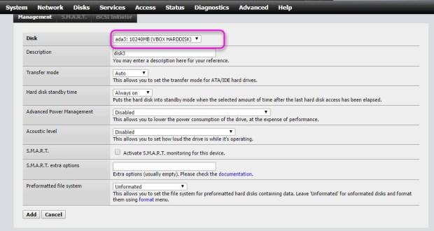 nas4free disk management 1
