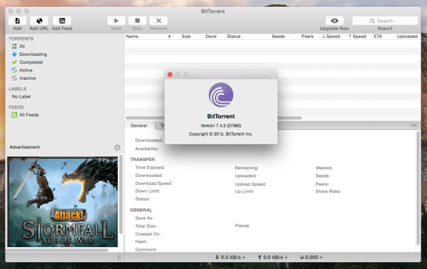 bittorrent on mac