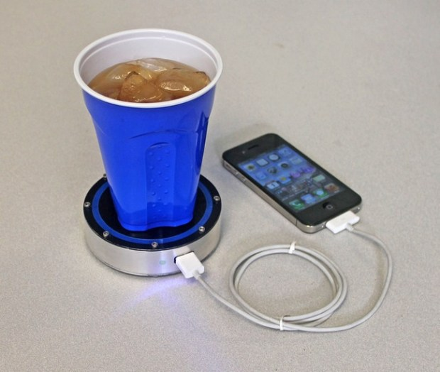 charge-phone-with-drinks