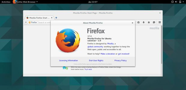 firefox 37 on ubuntu gnome 15.04