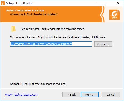 install foxit on windows 10