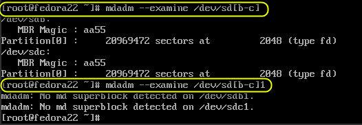 raid on fedora 22 server 3