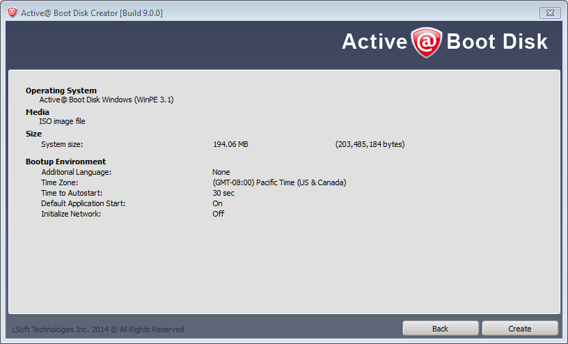 How to create bootable ISO using Active Boot Disk 9 0 - Tutorial and