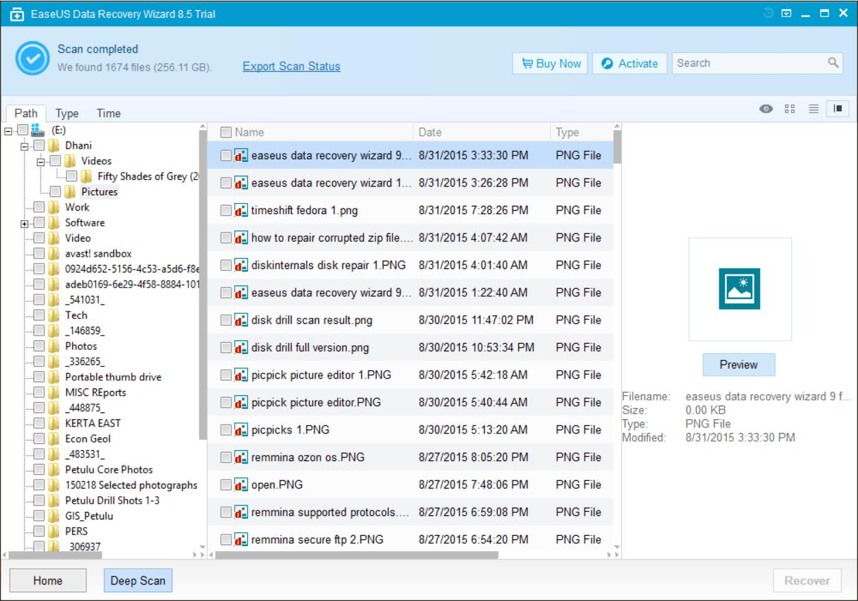 data recovery full