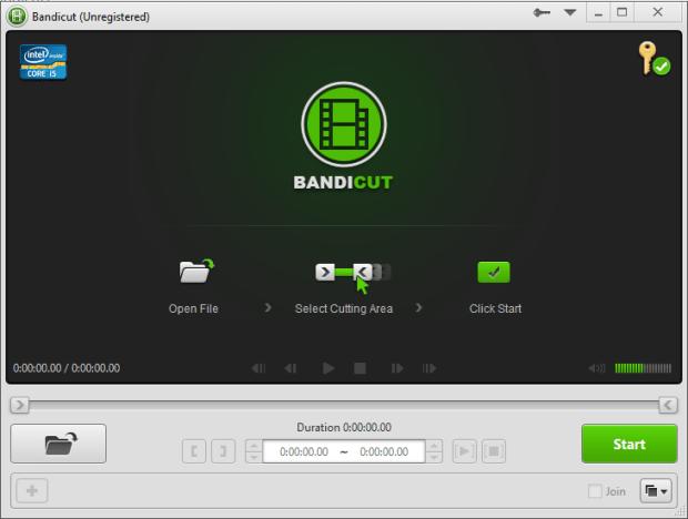 bandicut video cutter 1.3.1 screenshot 2