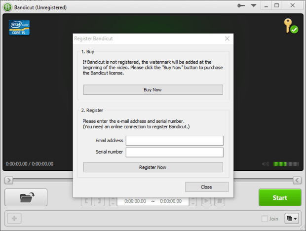 bandicut video cutter 1.3.1 screenshot 4