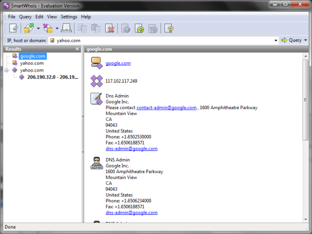 smartwhois 5.1 full version