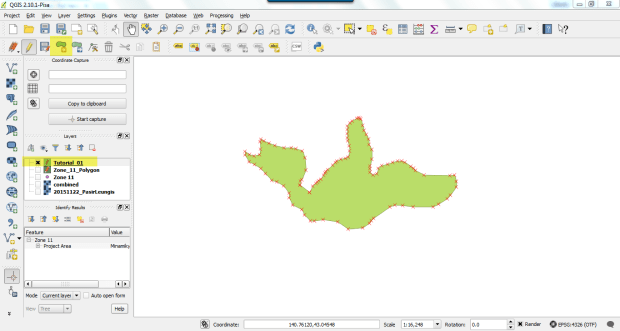 create shapefile on qgis 3