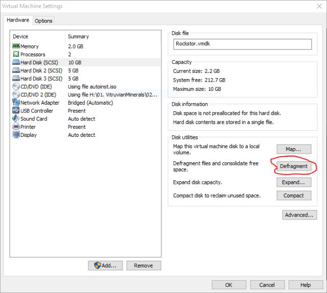 defragment disk vmware 1.PNG