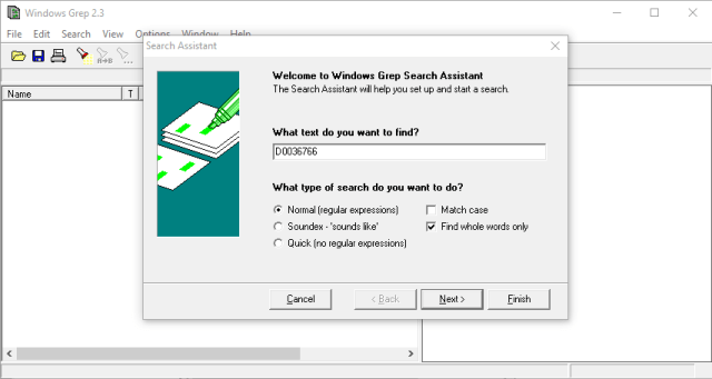Windows Grep 2