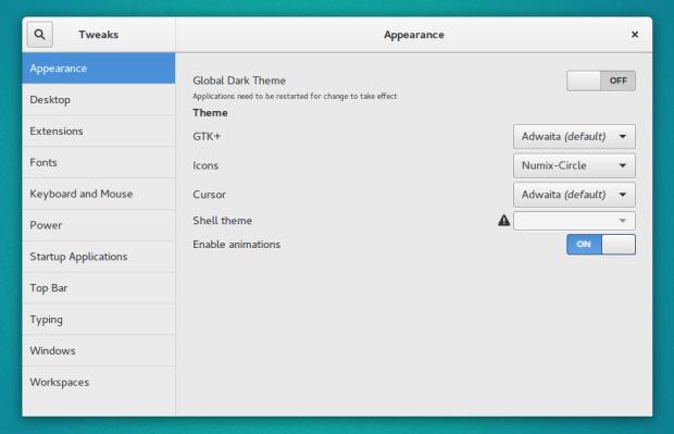 numix icon theme on ubuntu
