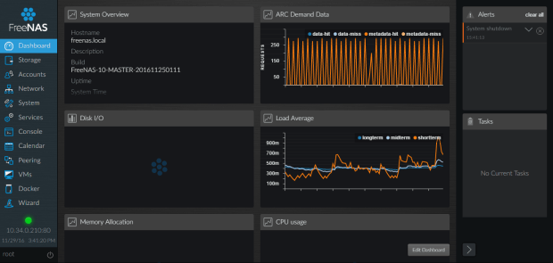 freenas-10-dashboard