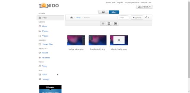 tonido on ubuntu 16.04 server tutorial.png