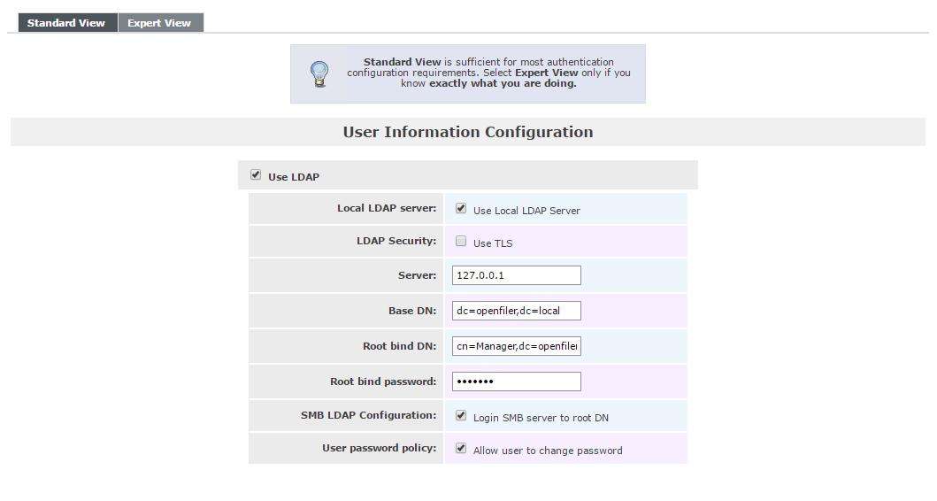 ldap configuration on openfiler.png
