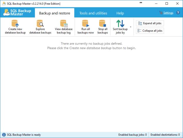 SQL Backup Master 3.2 Full Version