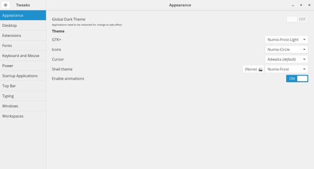 How to install Numix Icon Theme Circle on Antergos