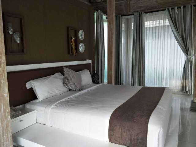 kamar utama sawah joglo resort
