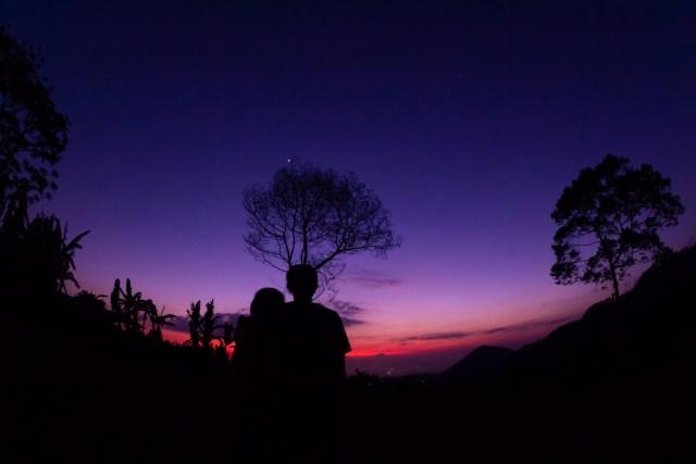 Sunset di Tawangmangu Camp Resort
