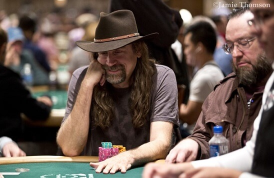 Chris Jesus Ferguson at the WSOP