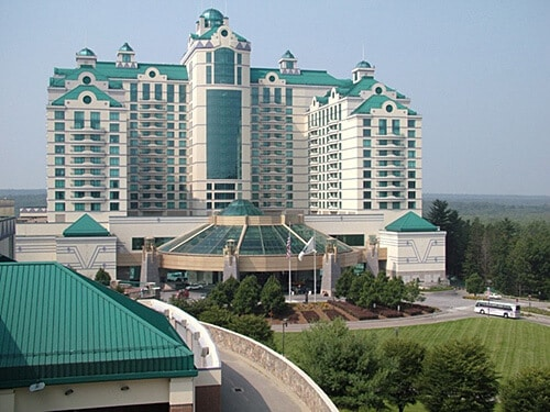Foxwoods in Connecticut is one of the largest casinos in the USA