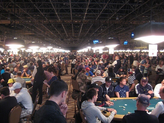 The Rio's Amazon Room during the World Series of Poker