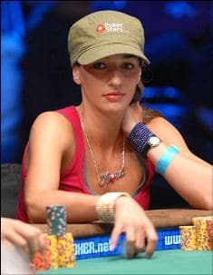 Kara Scott cashed in back to back WSOP Main Events