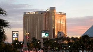 Mandalay Bay is about 2 miles away from the Linq