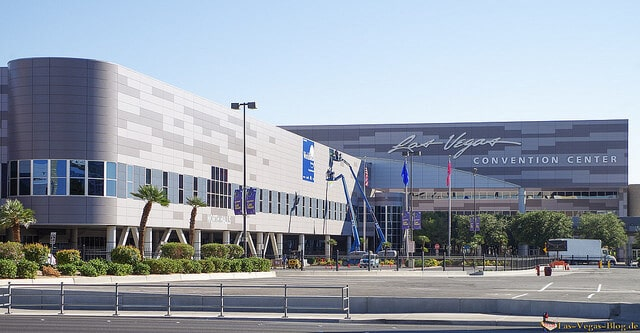 The Las Vegas Convention Center is fairly close to the Las Vegas Strip