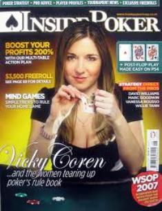 Victoria Coren Mitchell has been on many poker magazine covers