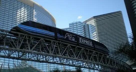 The Aria Tram