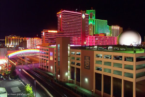 A look at some of the casinos in downtown Reno