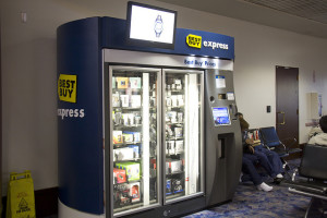 A Best Buy Express Kiosk at McCarran Airport in Las Vegas