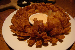 You can get your Bloomin' Onion fix at one of two Outback Restaurants on the Las Vegas Strip