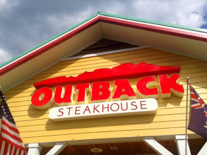 There are seven Outback Steakhouses in Las Vegas