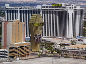 There is lots of free parking at the Westgate Las Vegas