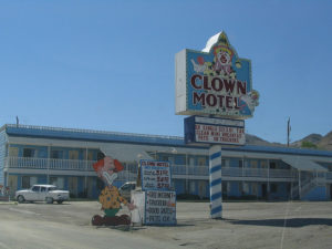 The Clown Motel in Tonopah