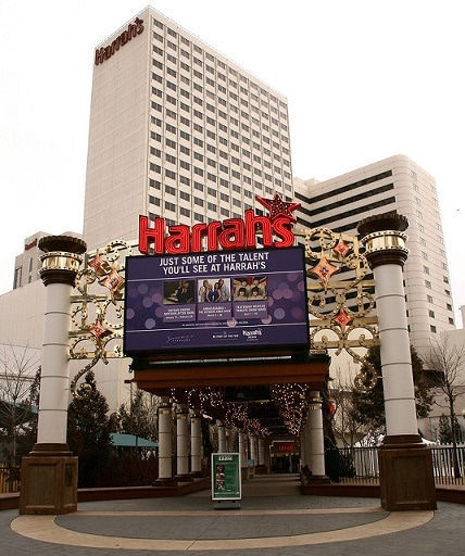 Harrah's Casino Hotel in downtown Reno, Nevada