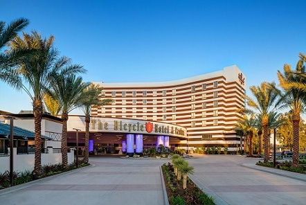 The Bicycle Hotel & Casino is one of 89 card rooms in California