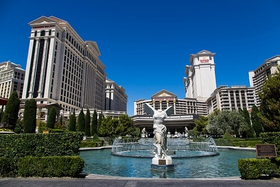 Caesars Palace charges a hefty resort fee