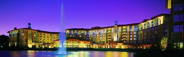 In terms of gaming square footage, the Soaring Eagle Casino Resort is one of the biggest casinos in the United States