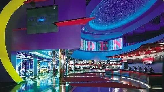 vegas casino movie theaters