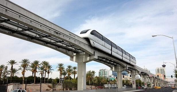 The Las Vegas Monorail is very affordable
